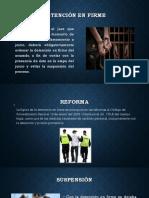 Detención en Firme
