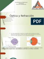 Optica y Refraccion