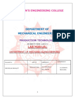 PT Lab Manual