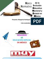 Marco Normativo de Inclusión Educativa