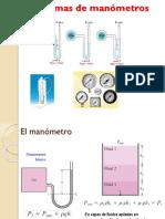 PP 5 Ejercicios Sobre Manómetros