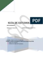 Guía de estudio N° 2 Admón Proyectos
