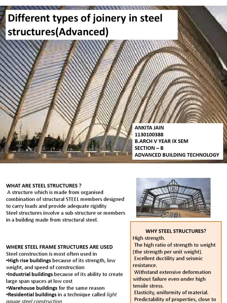 Ankita Jain_ 1130100388_Steel Joinery | Strength Of Materials ...