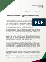 11-04-18 Boletín MCR Reunión con profesionistas