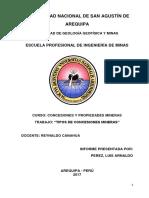 Concesiones Mineras Peru