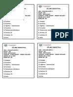 Sílabus Gramática 1RO Secundaria III Bim