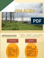 LLUVIA ACIDA Diapositivas