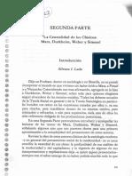 Lado, Romanin - La Construccion Sociologica (2da Parte)