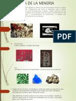Historia de La Mineria [Autoguardado]