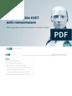 Configuracion ESET Anti Ransomware