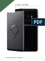SAMSUNG Galaxy S9 4G – SM-G960