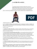Enseña a Estudiar a Tu Hija o Hijo (8-12 Años) (Isepclinic.es)