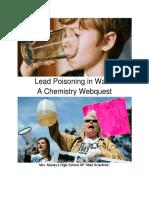 chemistrywebquestleadpoisoning