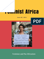 Pan-Africanism and Feminism