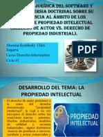 PROTECCIÓN JURÍDICA DEL SOFTWARE Y LA CONTROVERSIA DOCTRINAL.pptx