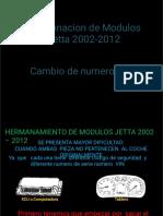 Hermanacion de Modulos Jetta 2002-2012