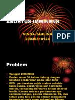 ABORTUS IMMINENS.ppt