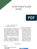 Método de Placa Fluida 9215b