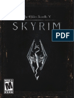 Skyrim Ps3 Manual