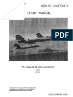 AER. 1F-104(T)GM-1 - Flight Manual - TF-104G-M (01-12-1996)