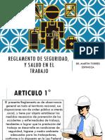 3. Reglamento de Seguridad y Salud en El Trabajo