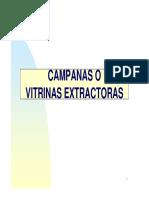 Campanas Extractoras y Vitrinas
