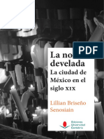 Lillian Briseño-La noche develada. La ciudad de México en el siglo XIX