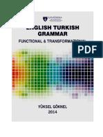 English Turkish Grammar Functional and Transformational