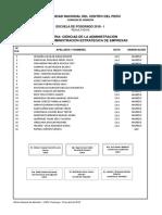 Resultados Posgrado 2018-i