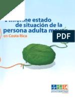 I Informe Estado de Situacion de La Persona Adulta Mauor Costa Rica (Redes de Apoyo)