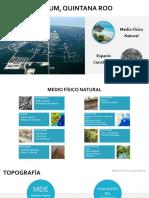 Estudio Diagnostico Urbano de TULUM, QUINTANA ROO