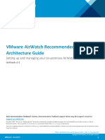 VMware AirWatch Recommended Architecture Guide v9_1(1)
