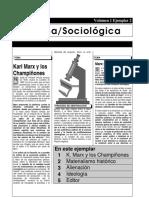 Página Sociológica Marx