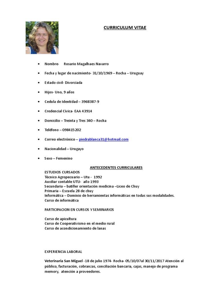 Bonito Curriculum Vitae Para La Escuela Secundaria Sin Experiencia ...