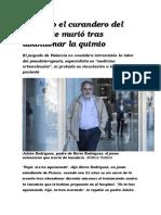 Absuelto El Curandero Del Joven Que Murió Tras Abandonar La Quimio