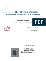 NIST 2012 Soil-‐Structure Interac4on