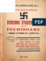 Corneliu Zelea Codreanu - Scrisori studentesti din inchisoare - 1925
