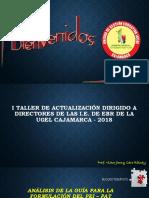 Taller Directores 2018