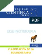 Clasificacion de La Equinoterapia UCSUR