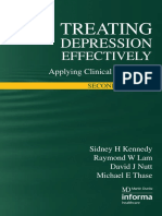 Treating Depression Effectively Applying Clinical Guidelines, 2nd Edition