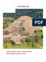 1er Reporte Teotihuacan