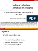 Lecture 3 Introduction to Peripheral Devices