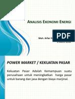 Analisis Ekonomi Energi