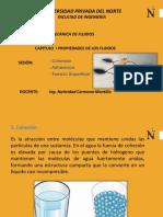 """3 Cohesiã""""n y Adherencia-tensiã""""n Superficial"""