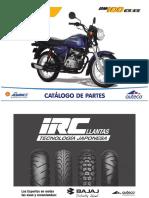 Manual de Despiece Para Mecanicos Moto Boxer BM 100 ES