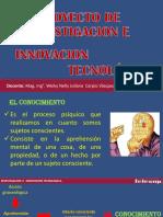 i.- Proyecto de Investigacion e Innovacion Tecnologica