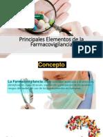 Principales Elementos de La Farmacovigilancia