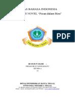 Analisis Novel, Indah Mulyani R (XII MIA 4)