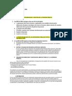 Preguntas de La Ley 909 Del 2004