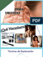 Semiologia de Oido